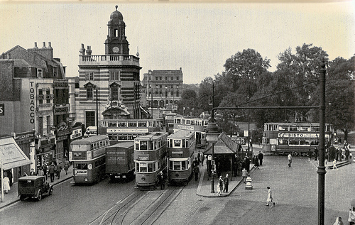 Camberwell Green Trams