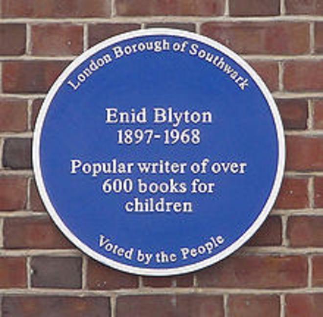Enid Blyton lived at 354 Lordship Lane