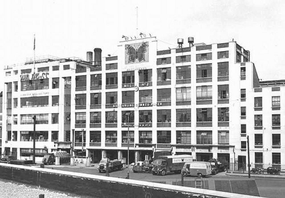 Samuel Jones Gummed tape factory