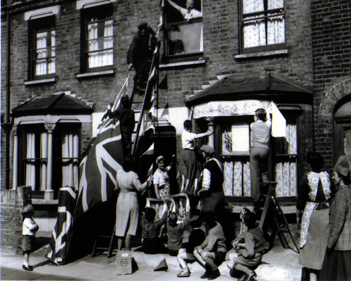 Kimpton Road , Camberwell, Coronation Day copy