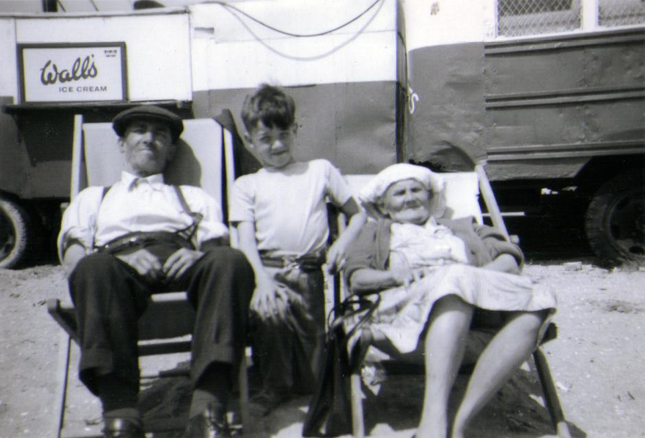 me nan & grandad stacey