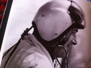 Donald Campbell 1960 Everoak made flying helmet