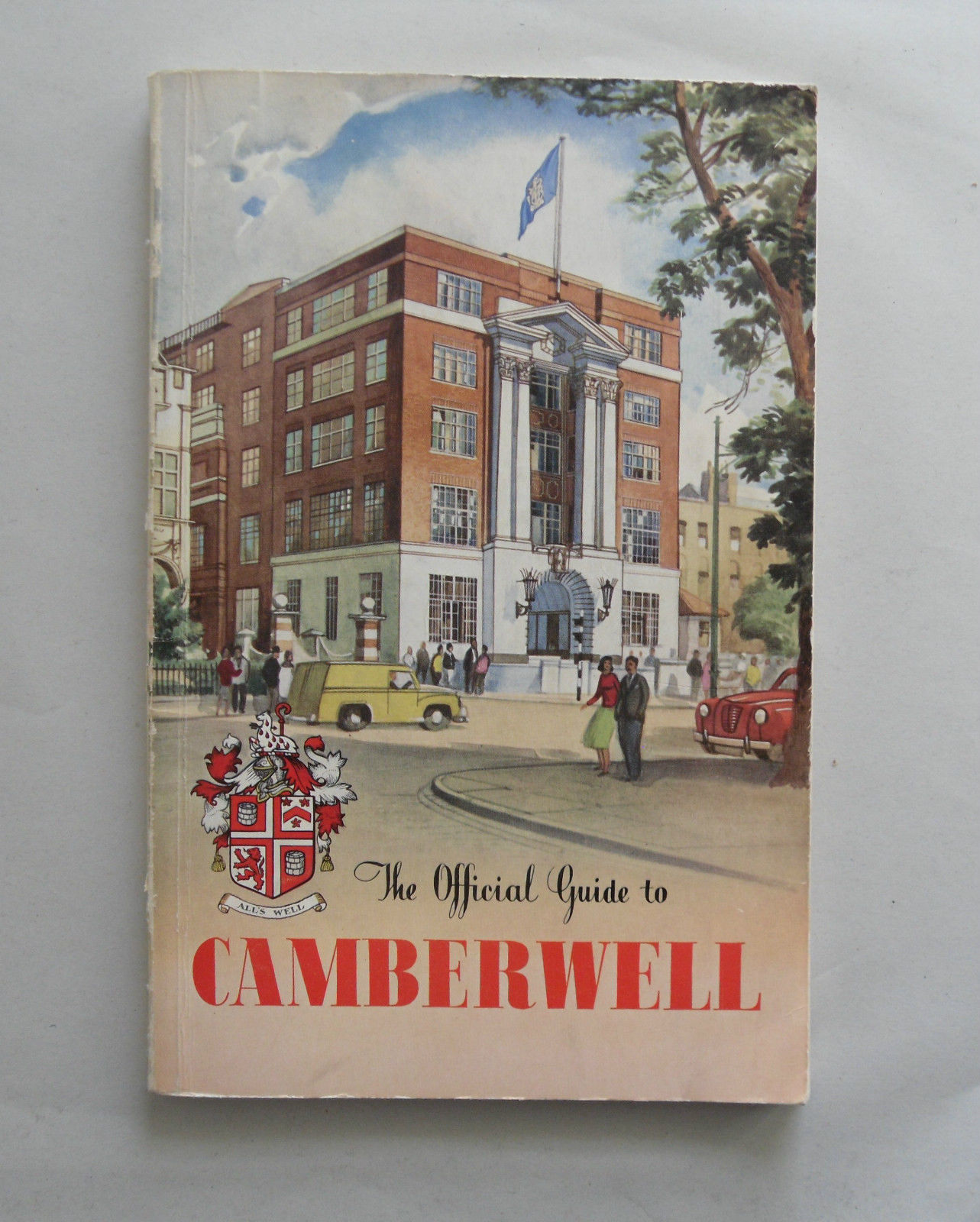 camberwell official guide cover 1958